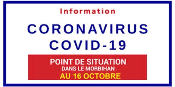 Point Covid au 16 octobre 2020